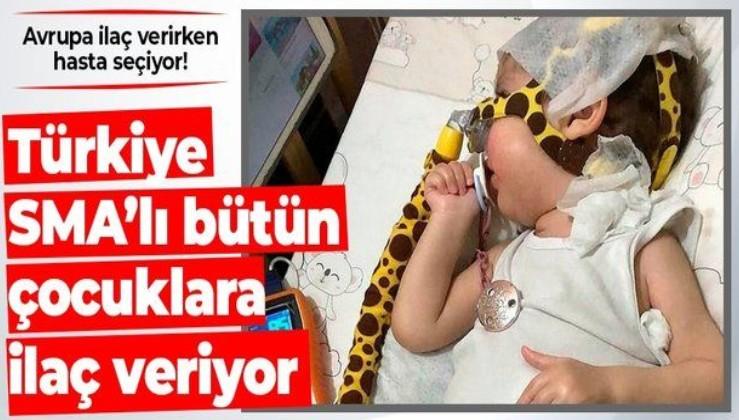 Avrupa hasta seçiyor Türkiye'de bütün SMA'lı çocuklara ilaç veriliyor