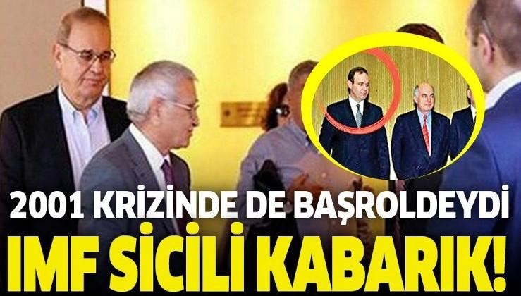 Faik Öztrak'ın IMF sicili kabarık!.