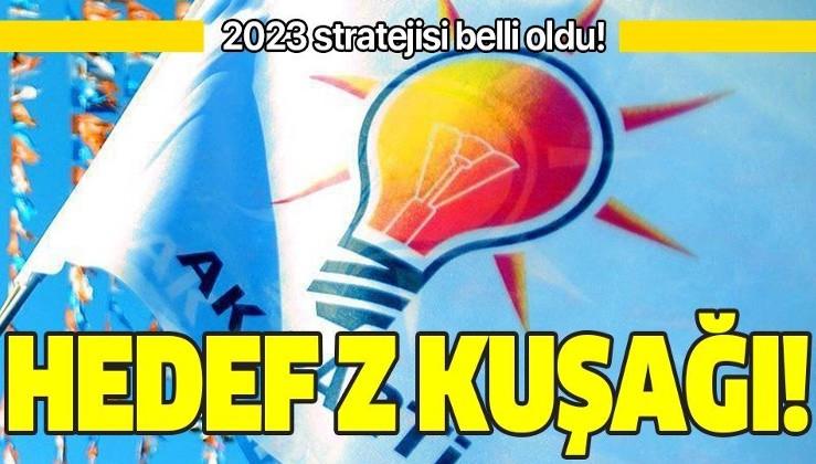 AK Parti'nin 2023 stratejisi belli oldu! Hedef Z kuşağı!