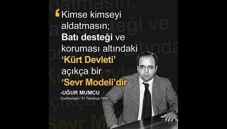 İyi ki doğdun Uğur Mumcu! Yaşasaydı PKK/FETÖ/SOROS bölücülerinin belası olmaya devam edecekti!