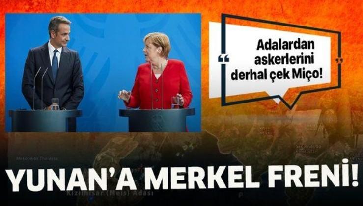 Almanya'dan Yunanistan'a açık çağrı: Adalardan askerlerini çek