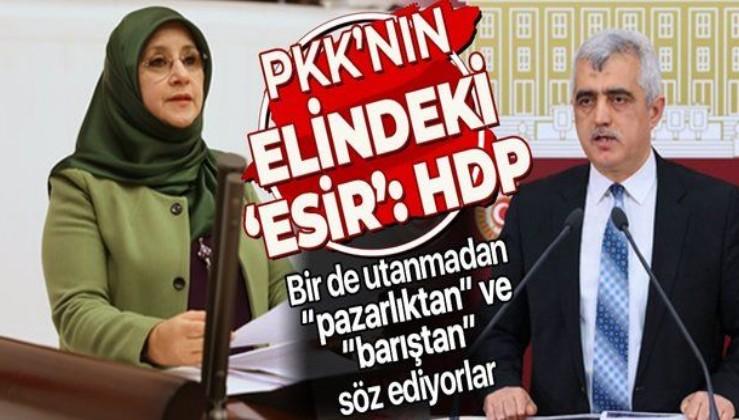 """""""PKK'nın elinde asıl esir olan HDP'dir, Hüda Kaya'dır, Gergerlioğlu'dur, HDP milletvekilleridir"""""""