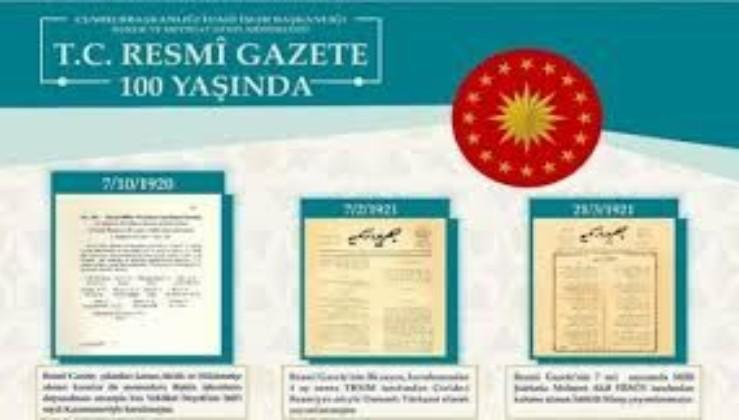 """"""" Resmi Gazete, devlet hafızası ve şeffaf yönetim anlayışının vesikasıdır"""""""