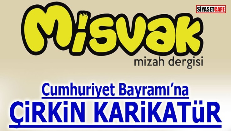 Cumhuriyet Bayramı'na çirkin karikatür!