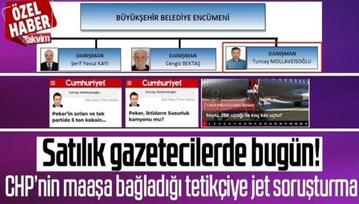 Cumhuriyet yazarı Tuncay Mollaveisoğlu CHP'nin paralı tetikçisi çıktı! Valilik soruşturma başlattı