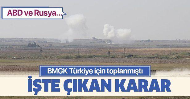 Son dakika haberi... ABD ve Rusya, BMGK'nin Türkiye'yi kınamasına onay vermedi.