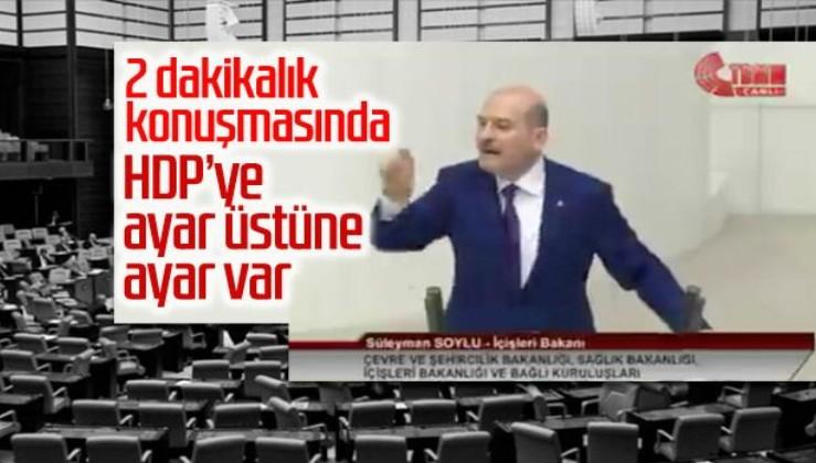 Soylu'dan HDP'lilere: Bu bütçe Diyarbakır annelerinin