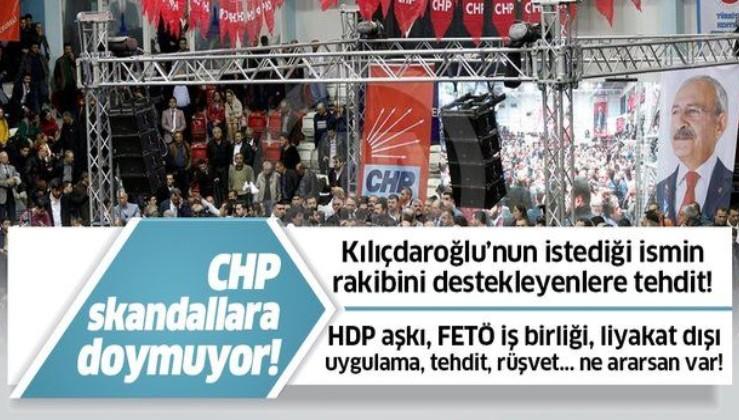 Kemal Kılıçdaroğlu'nun istediği ismin rakibi olan adayı destekleyenlere tehdit!.