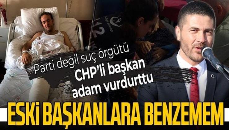 """Son dakika: CHP'li Foça Belediye Başkanı Fatih Gürbüz mafyaya bulaştı! """"Beni nam salmak için mafyaya vurdurttu"""""""