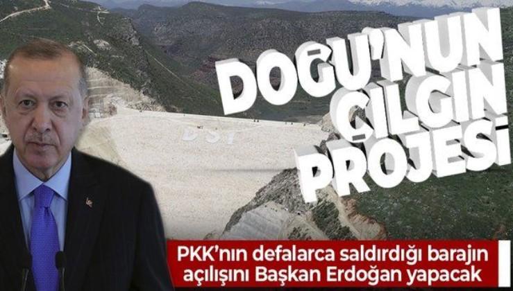 """SON DAKİKA: Diyarbakır'ın """"çılgın projesi!"""" PKK'nın 25 kez saldırdığı Silvan Barajı bugün açılıyor"""