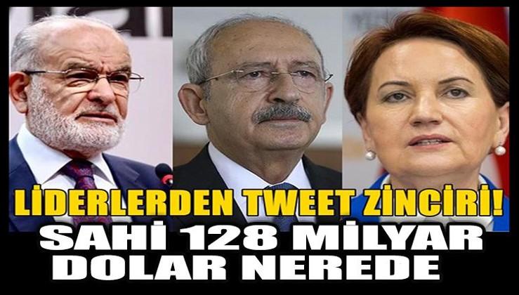 128 milyar için tweet zinciri