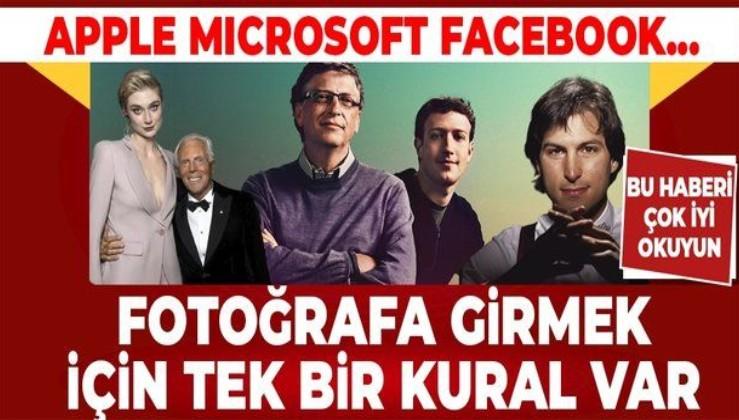 Mark Zuckerberg, Steve Jobs, Giorgio Armani, Bill Gates... Milyarlarca doları ceplerine indirdiler