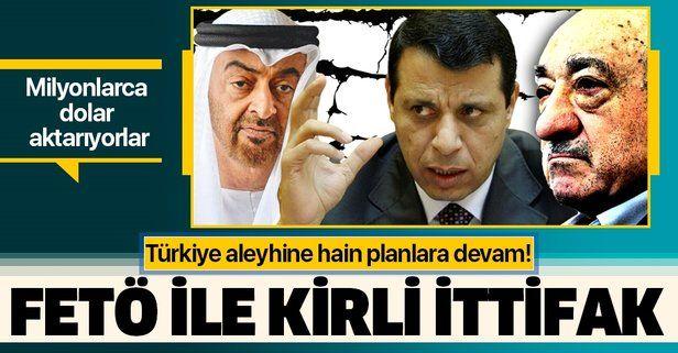 BAE'den FETÖ ile kirli ittifak! Türkiye karşıtı lobi faaliyetlerine milyonlarca dolar aktarıyorlar.