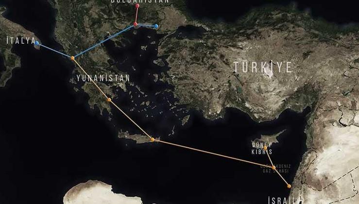 İsrail, Güney Kıbrıs ve Yunanistan EastMed'i imzaladı: Hedef Türkiye'yi devre dışı bırakmak
