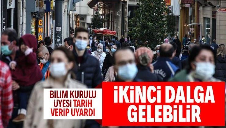 Türkiye'de koronavirüs salgını azalıyor derken Bilim Kurulu üyesi uyardı: Yeni dalga gelebilir