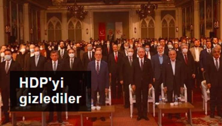 HDP'yi gizlediler