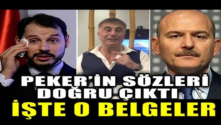 Sedat Peker'in sözleri doğru çıktı