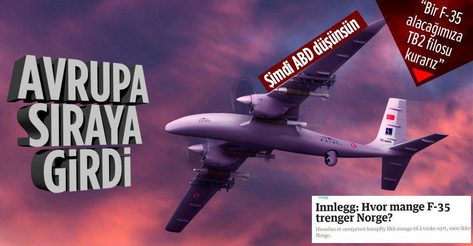 Şimdi ABD düşünsün! Türk SİHA'ları gündemde: Bir F-35 fiyatına TB2 filosu satın alınabilir