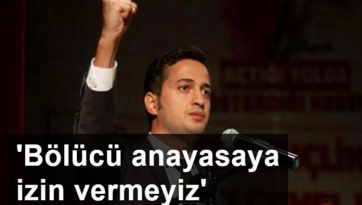 TGB Genel Başkanı Yıldırım Gençer: Türk Milleti bölücü anayasaya izin vermez