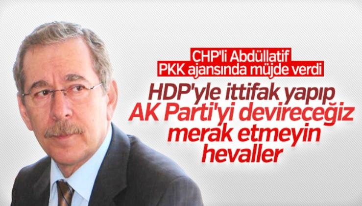 Abdüllatif Şener, HDP'yle ittifaka yeşil ışık yaktı