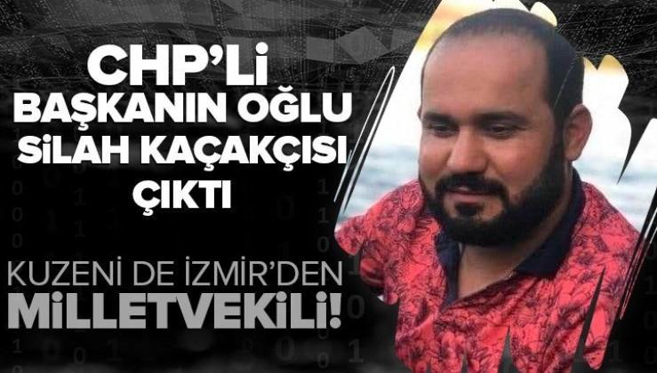 SON DAKİKA: CHP'li İlçe Başkanı Mehmet Polat'ın oğlu silah kaçakçısı çıktı!