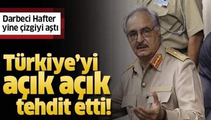 Darbeci Hafter yine çizgiyi aştı! Sözcüsünden açık tehdit: Türk askerlerinin sonu gelecek.