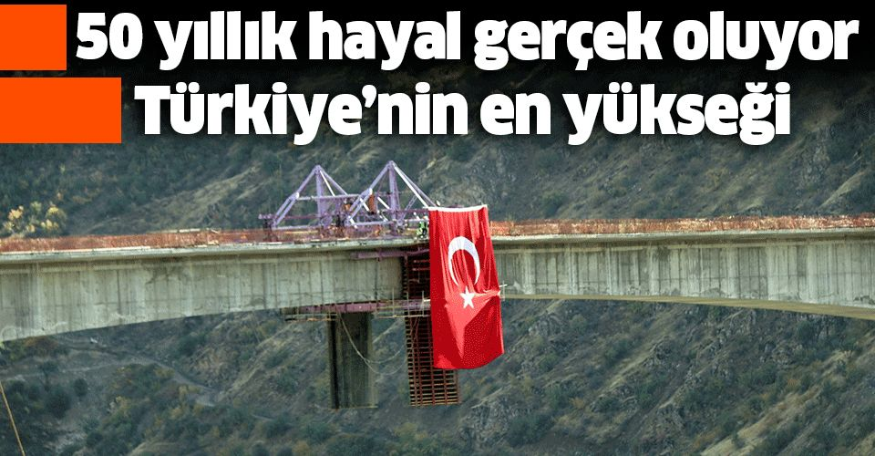Gün sayıyor! Türkiye'nin en yükseği olacak