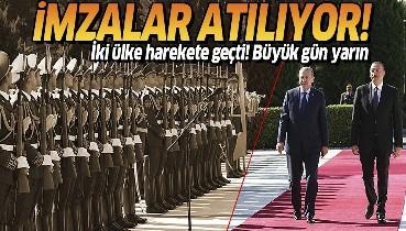 """Son dakika: Türkiye ve Azerbaycan arasında stratejik iş birliği: """"Ortak Medya Platformu"""" oluşturulacak"""