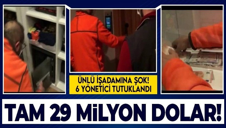 Ünlü iş adamı Hayyam Garipoğlu'na dolandırıcılık şoku! Şirketin 6 yöneticisi tutuklandı! Tam 29 milyon dolar!