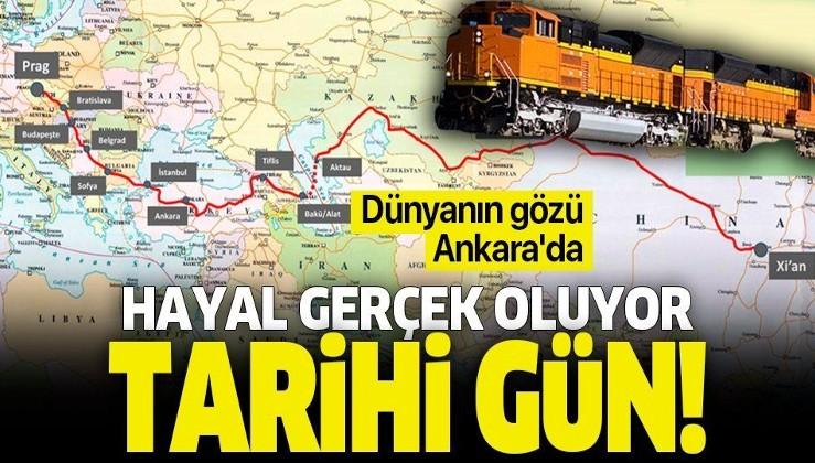 'Orta koridor' ticareti başladı! Çin'den gelen tren Marmaray'dan bugün geçecek.