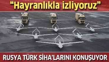 """Türk SİHA'ları Rus basınında! """"Savaşın kaderine hükmedecek"""""""