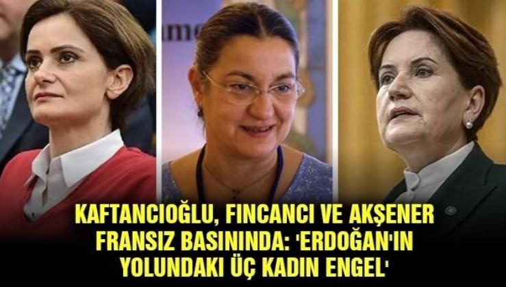 Emperyalistler 3 kadını parlatan haber yaptılar: Meral Akşener Canan Kaftancıoğlu Şebnem Korur Fincancı