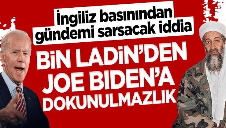 İngiliz basınından gündemi sarsacak iddia: Bin Ladin'den Joe Biden'a dokunulmazlık!