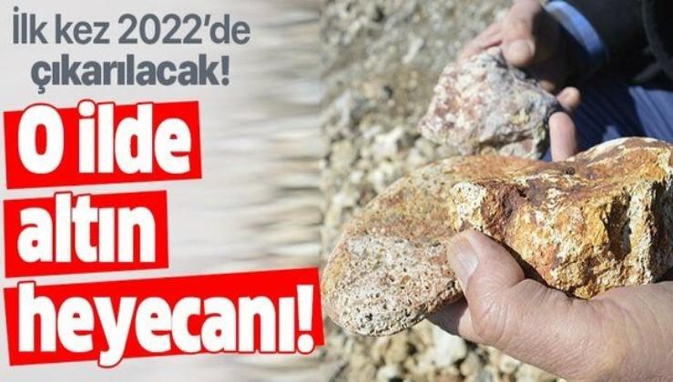Ağrı'da altın madeni heyecanı! 2022'de çıkarılacak! 1,5 milyar dolar...