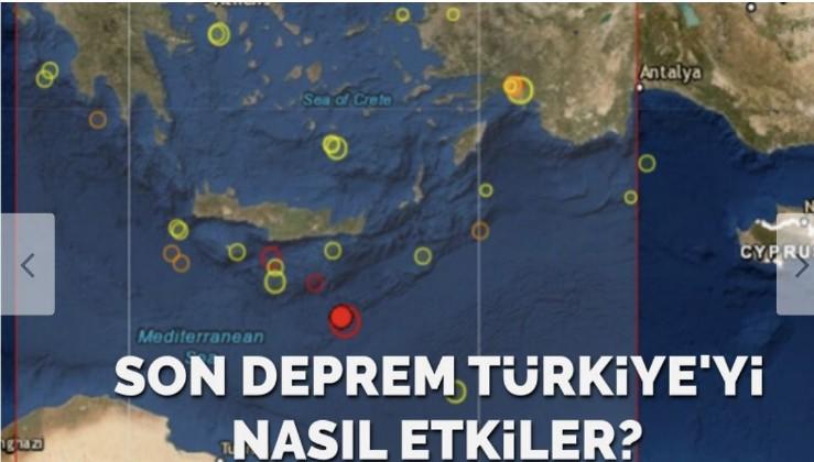 Akdeniz'deki deprem Türkiye'yi nasıl etkiler: Daha büyüğü gelir…