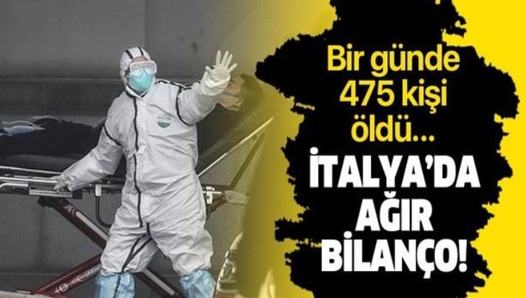 Son dakika: İtalya'da koronavirüsten ölenlerin sayısı 2 bin 503'e yükseldi.