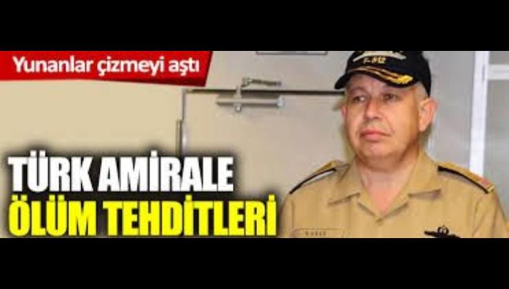 Tümamiral Cihat Yaycı'ya ölüm tehdidi!