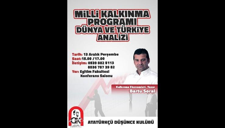 Bartu Soral Yarın Amasya'da Gençlerle...