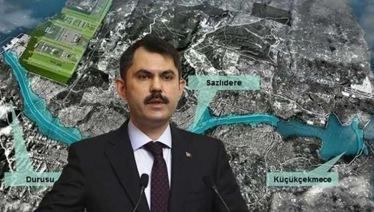 Kurum'dan Kanal İstanbul itirafı: 32.7 milyon metreküp su kaybı olacak
