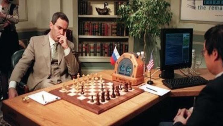 Satranç dehası Garry Kasparov