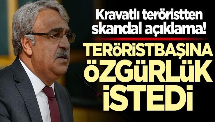 HDP'li Mithat Sancar'dan skandal sözler: Öcalan'ın özgürlüğü için ittifak kuracağız