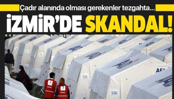 İzmir'de skandal olay! Depremzedelere ait battaniyeleri satılığa çıkardılar