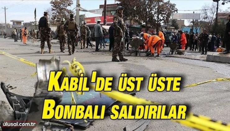 Kabil'de düzenlenen bombalı saldırılarda 10 kişi hayatını kaybetti