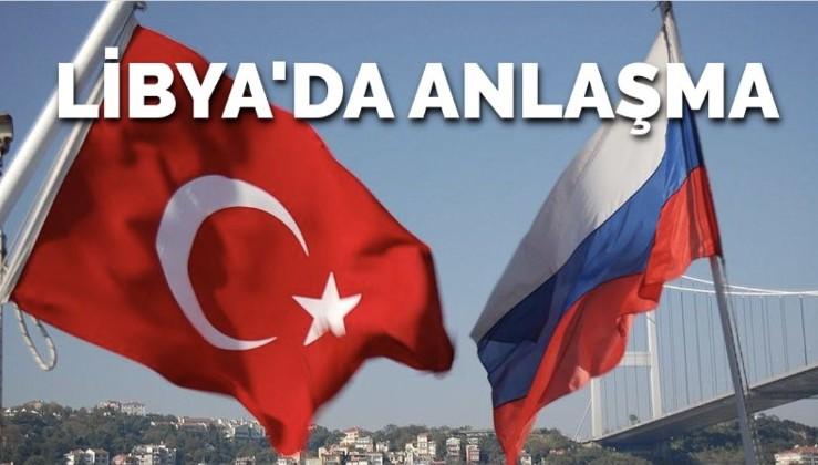 Türkiye ve Rusya'dan 'Libya' anlaşması