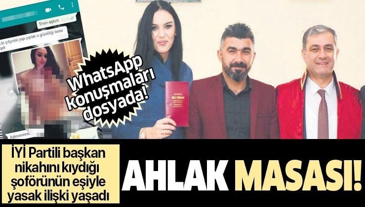 İYİ Partili Elmalı Belediye Başkanı Halil Öztürk'ten skandal! Nikahını kıydığı makam şoförünün eşiyle yasak ilişki yaşadı