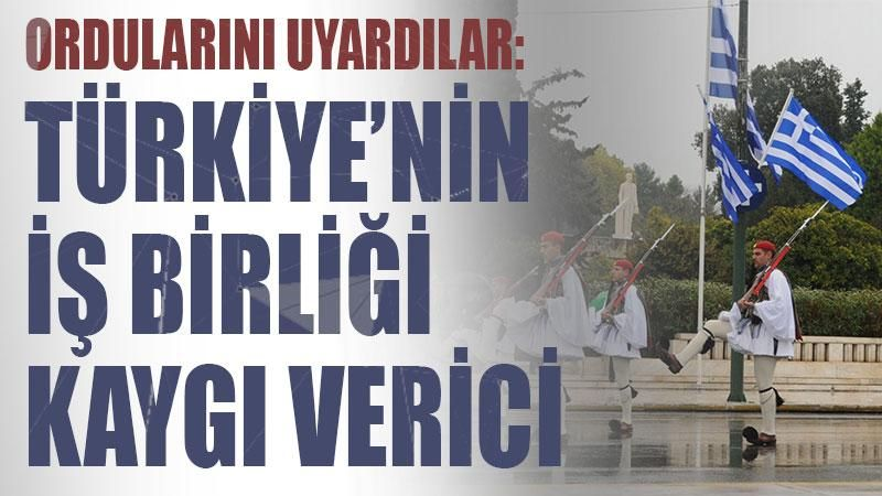 Ordularını uyardılar: 'Türkiye'nin iş birliği kaygı verici'