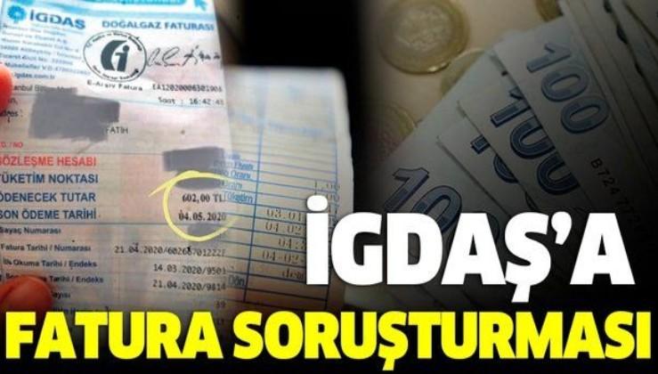 İGDAŞ'a fatura soruşturması