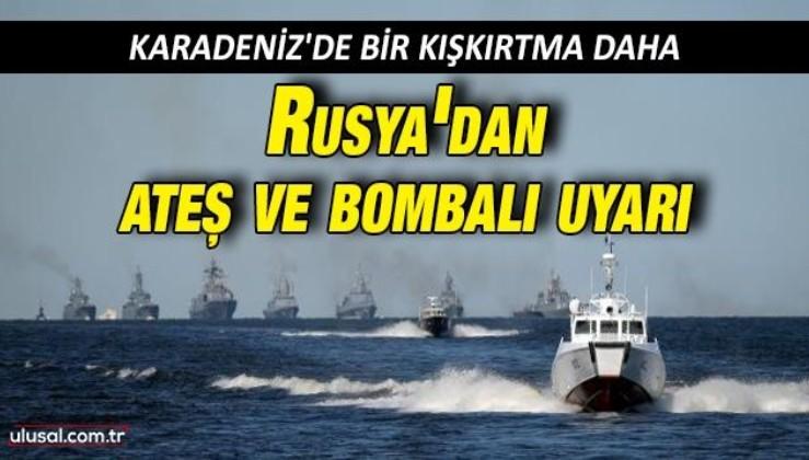 Rusya Savunma Bakanlığı açıkladı: Sınır ihlali yapan İngiliz savaş gemisine uyarı ateşi ve bombalama