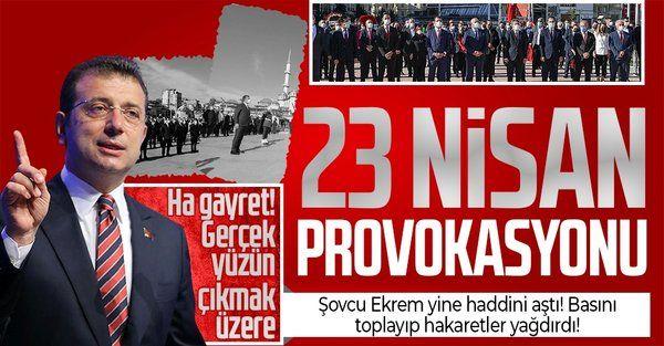 İBB Başkanı Ekrem İmamoğlu'ndan 23 Nisan'da provokasyon! İl Milli Eğitim Müdürü Levent Yazıcı'ya hakaretler yağdırdı