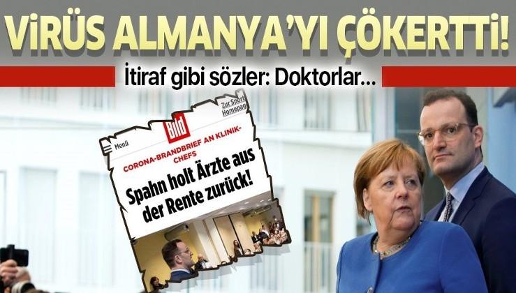 Koronavirüs Almanya'yı çökertti! Alman Sağlık Bakanından korkutan açıklama.
